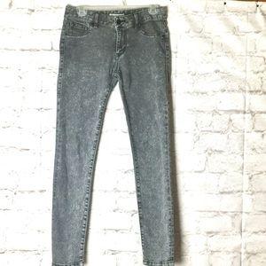 CABI Acid Wash Skinny Leg Jeans